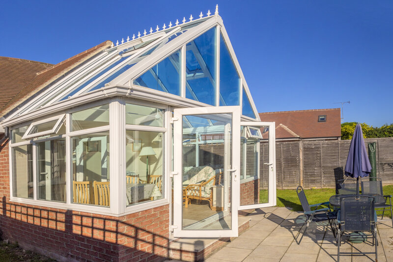Glass Conservatory in Leeds West Yorkshire